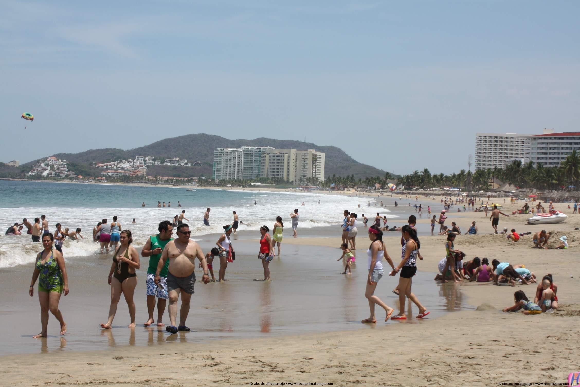 Buena Ocupación hotelera este fin de semana en Ixtapa