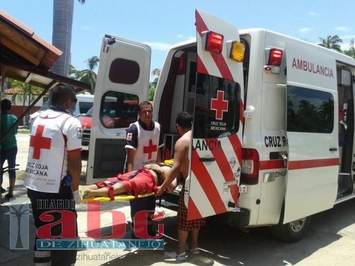 Salvan de morir ahogados a menor turista y a joven
