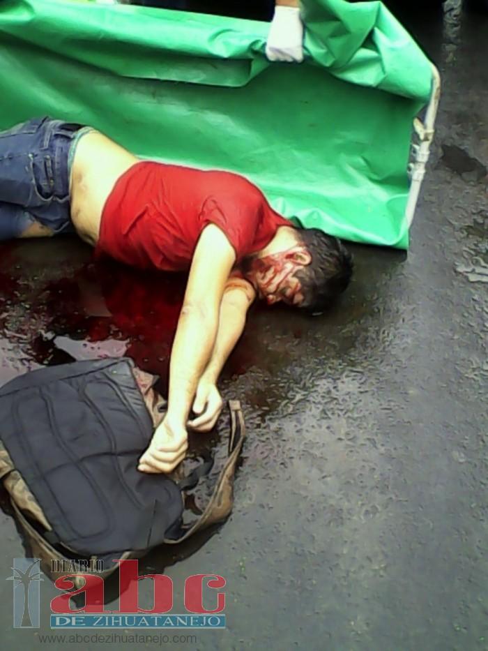 Murió motociclista en un fatal accidente carretero en Atoyac