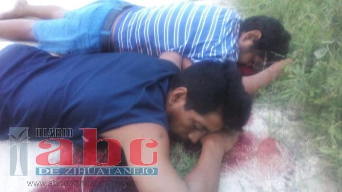 Asesinan a tres hombres en una comunidad de Atoyac