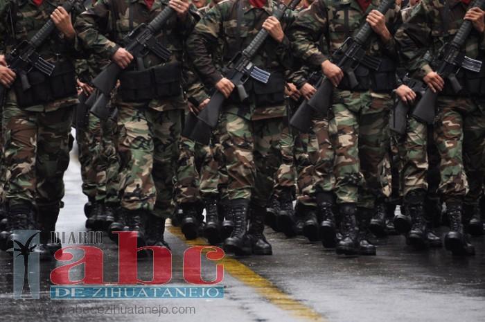 Marinos no participarán en el desfile del 20 de Noviembre