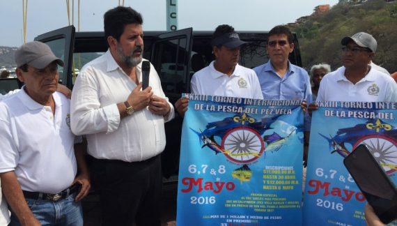 Impulsan gobierno del estado y municipio torneo de pesca con premios de alto nivel