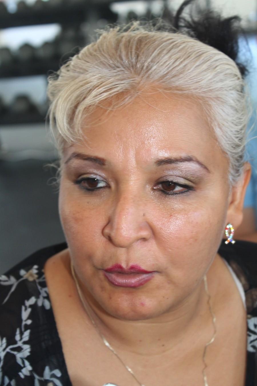 """Urge que se destine un predio para un nuevo cementerio en Zihuatanejo, dijo la representante popular del asentamiento """"Paraíso Lirios"""", Mayded Sánchez Albarrán."""