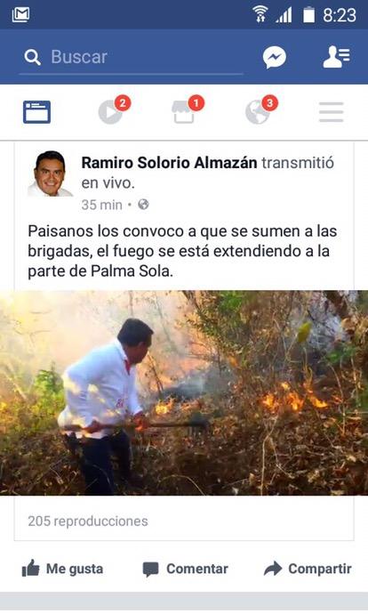 """Aparece en #Acapulco """"LordBombero"""""""