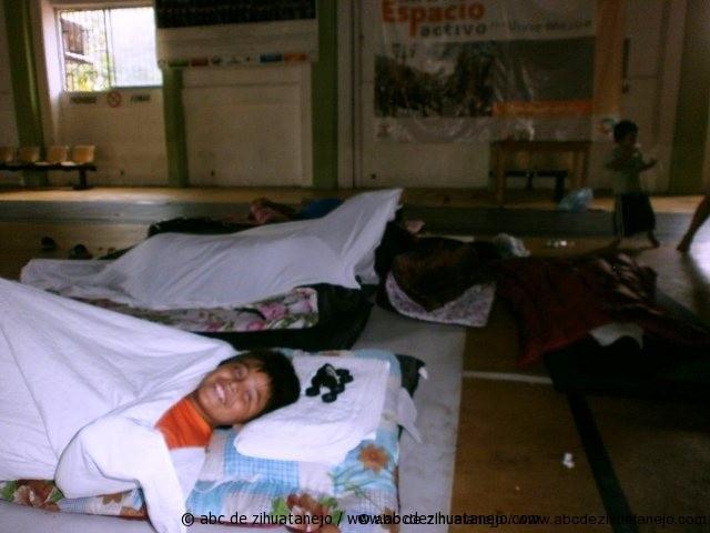 Photo of 18 personas afectadas por la lluvia se encuentran en el refugio temporal