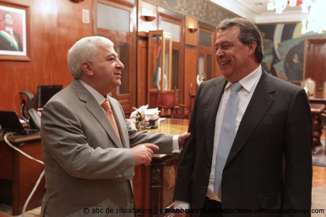 Photo of El gobernador Ángel Aguirre Rivero, se reunió con el secretario de Educación Pública, Emilio Chuayffet Chemor