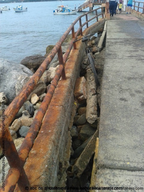 Photo of Evidente falta de mantenimiento en el Muelle de Playa Linda