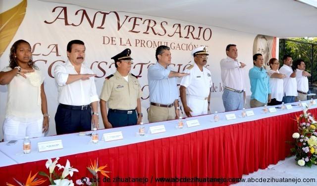 Photo of Encabeza EFB acto conmemorativo de promulgación de la Constitución. Autoridades militares dan realce al evento