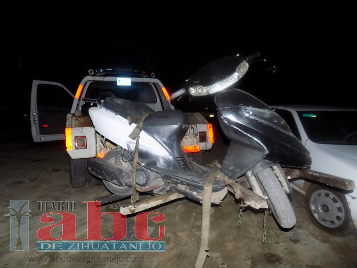 Photo of Aseguran moto por falta de placas y documentos