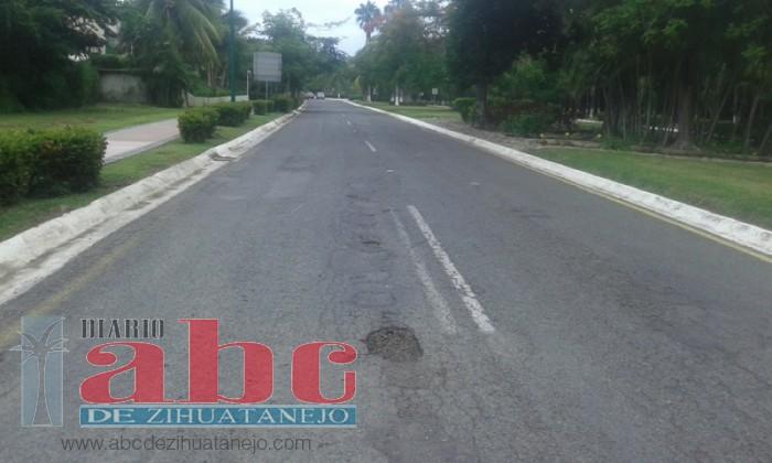 Photo of Indiferencia ante mal estado de calles en Ixtapa
