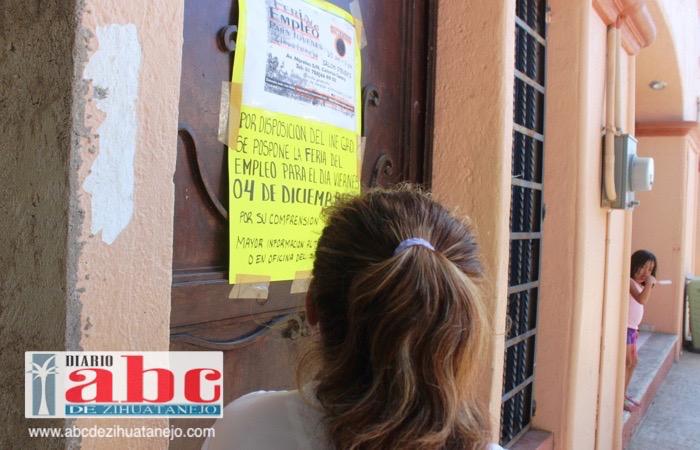 Photo of Por las elecciones de Tixtla el próximo domingo se pospone la feria del empleo