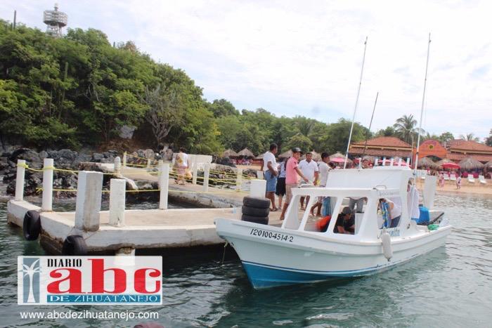 Photo of Prestadores de servicios de la isla rehabilitaron el muelle de playa Varadero