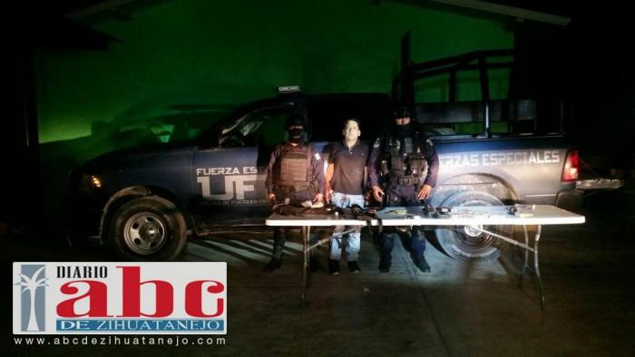 Photo of Detiene Policía Estatal en Guerrero a individuo con armamento en Chilpancingo