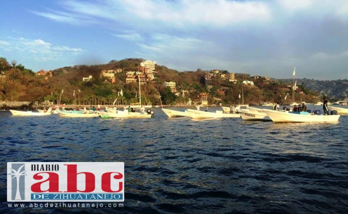 Photo of Pescadores realizan protesta pacífica para exigir salida de barcos atuneros