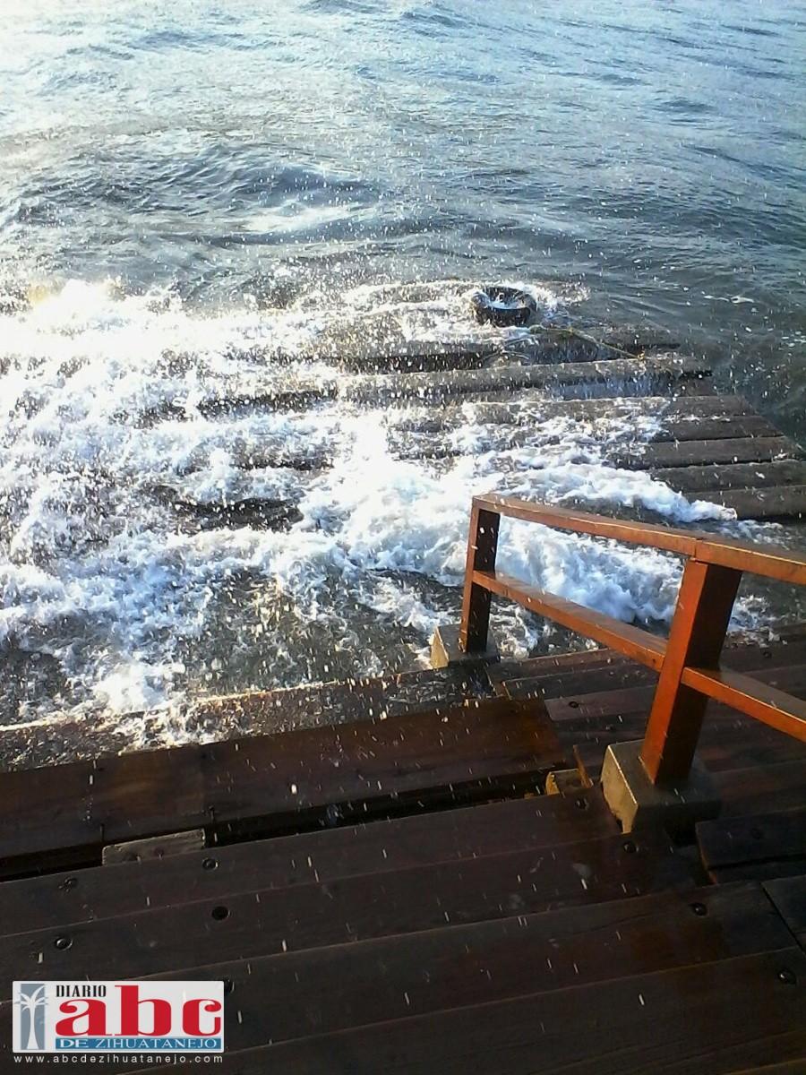 Photo of Por daños el muelle de playa Linda no fue reabierto a la navegación