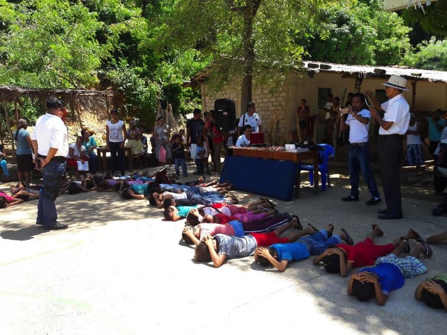 Photo of Imparten Secretaria de Seguridad Municipal conferencia a niños