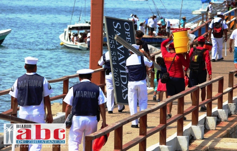 Photo of Armada de México comienza operación salvavidas en playas