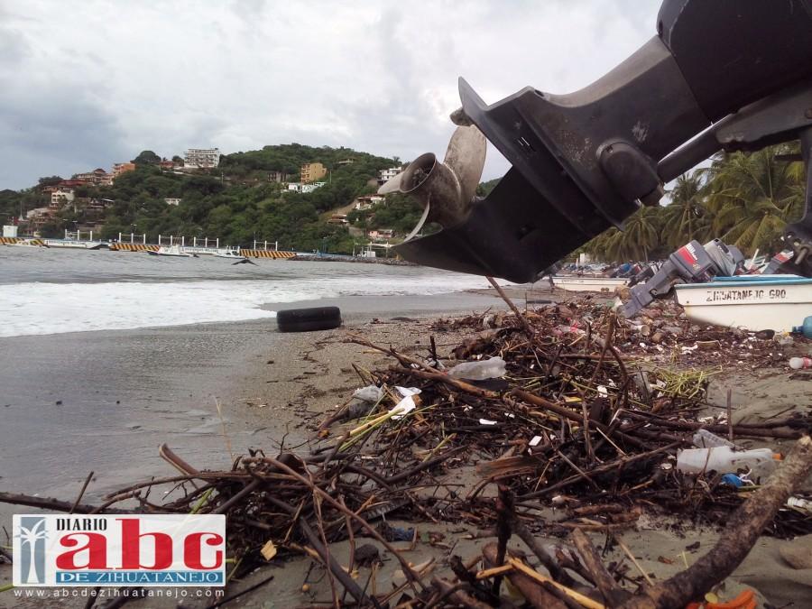 Photo of Zihuatanejo, sitio de ciudadanos que contaminan sus playas: GGM