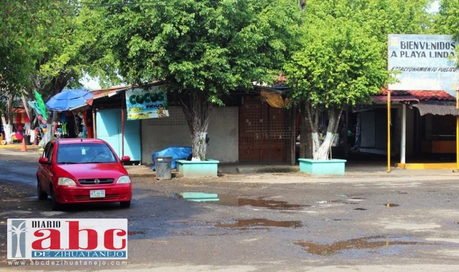 Photo of Crítica la temporada baja en negocios de playa Linda