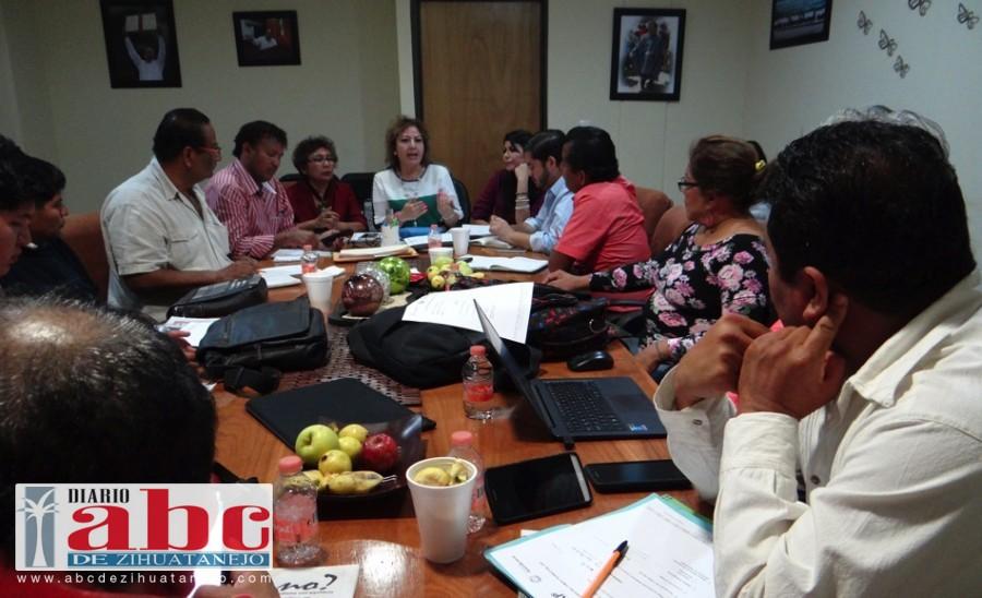 Photo of Encabeza Alicia Zamora, cuarta sesión ordinaria del comité técnico del FAP