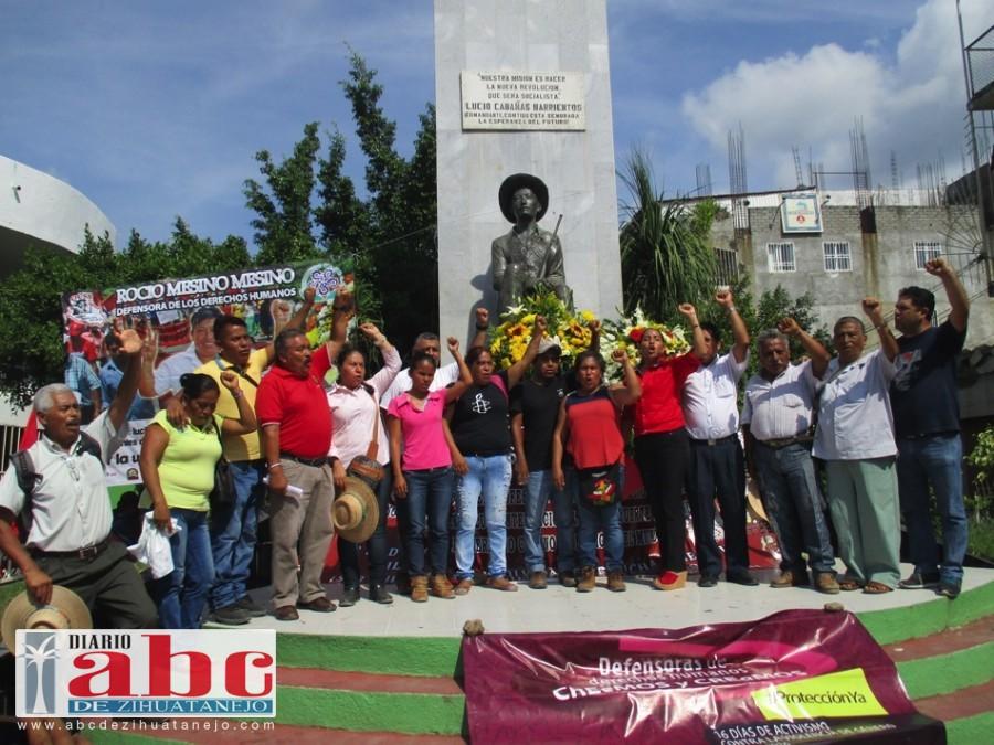 Photo of Marchan organizaciones sociales y maestros de la Ceteg, por  un aniversario más de Lucio Cabañas Barrientos