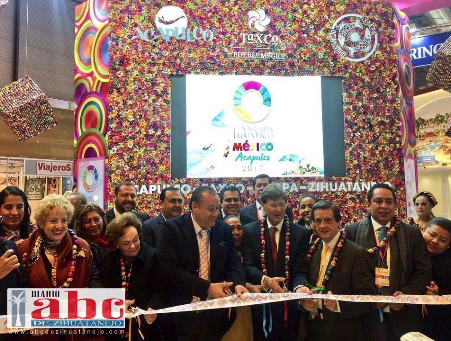 Photo of El pabellón de Guerrero cautiva a visitantes de diversos países en la FITUR