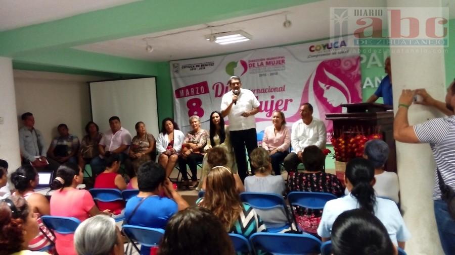 Photo of Autoridades festejan el día Internacional de la Mujer en Coyuca de Benítez