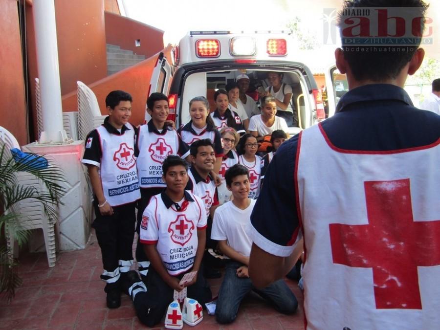 Photo of Listo paramédicos de Cruz Roja para auxiliar en periodo vacacional