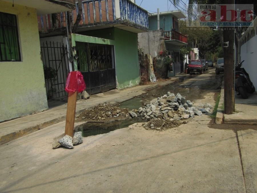 Photo of Reportan una fuga caudalosa en la Morelos
