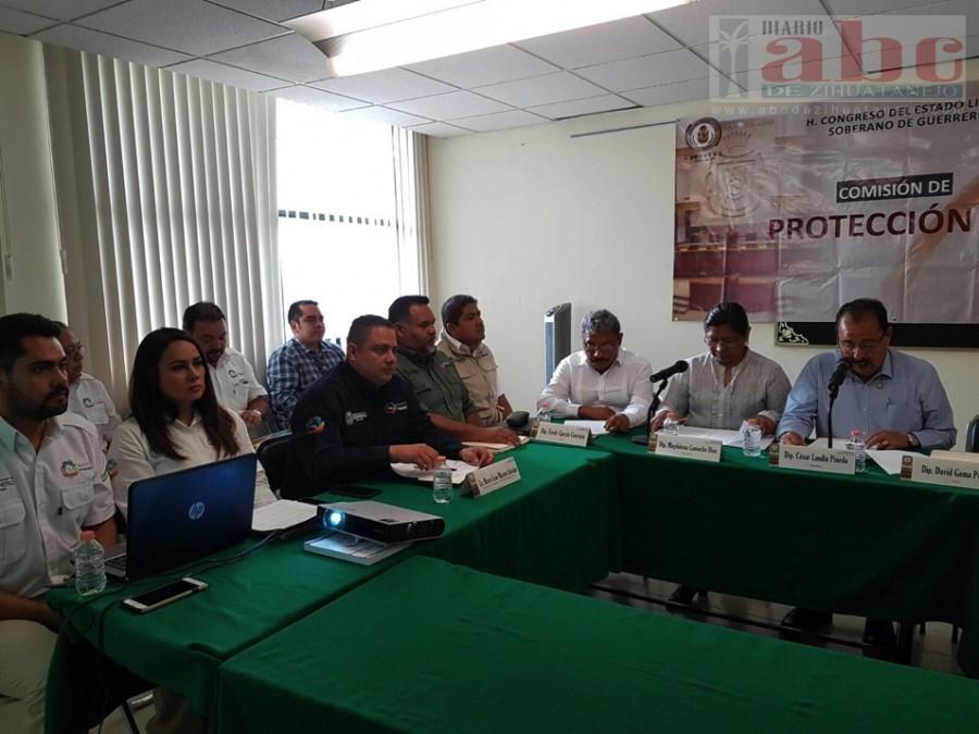 Photo of Guerrero preparado para la temporada de lluvias y ciclones: Protección Civil Estatal