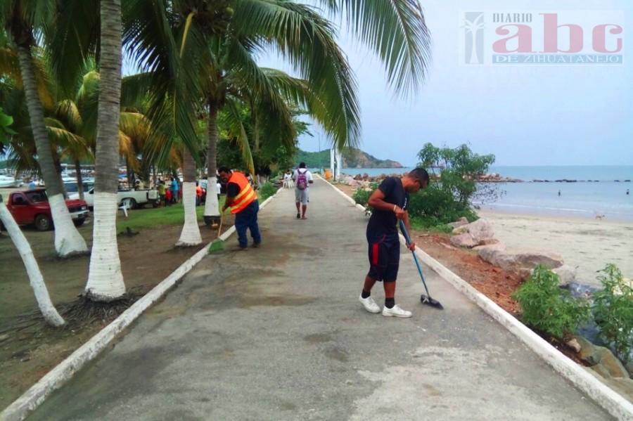 Photo of Por instrucciones de alcalde Gustavo García Bello, Servicios Públicos intensifica trabajos para beneficio de turistas