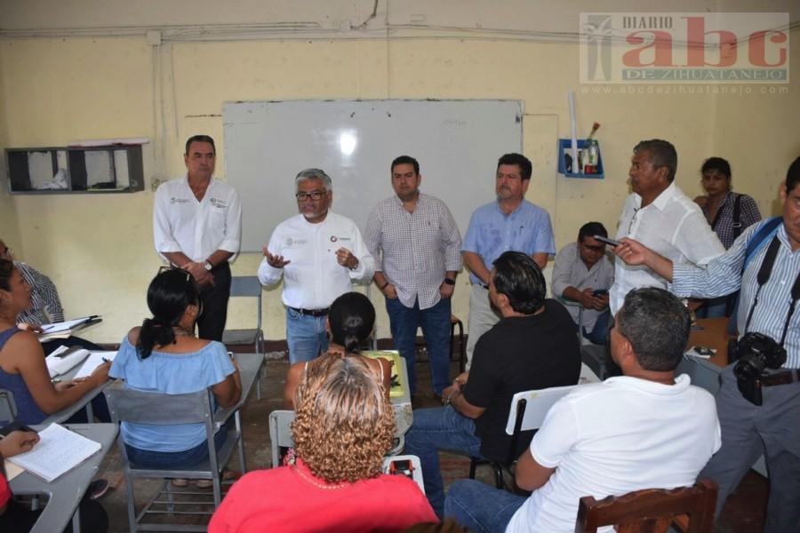Photo of Se reubicarán aulas de la escuela Vicente Guerrero de Zihuatanejo: IGIFE