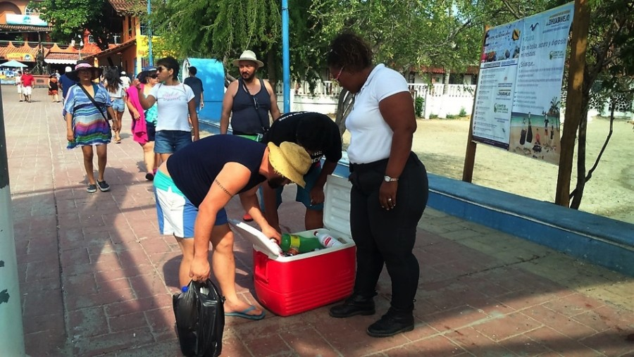 Photo of Unicel el material más decomisado a turistas en filtros