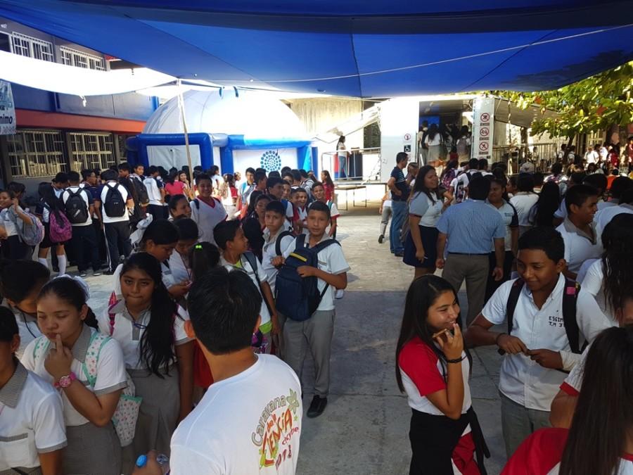 Photo of Anuncia alumnos y maestros caravana de la ciencia en la preparatoria 23