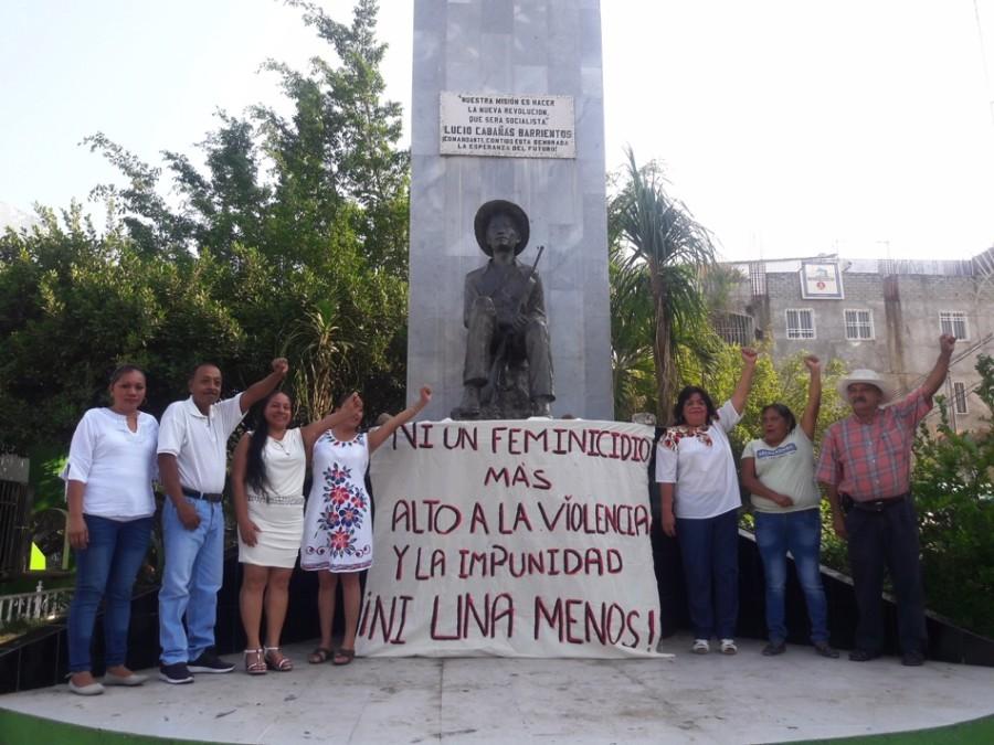 Photo of Mujeres activistas y  defensora de los derechos humanos exigen justicia
