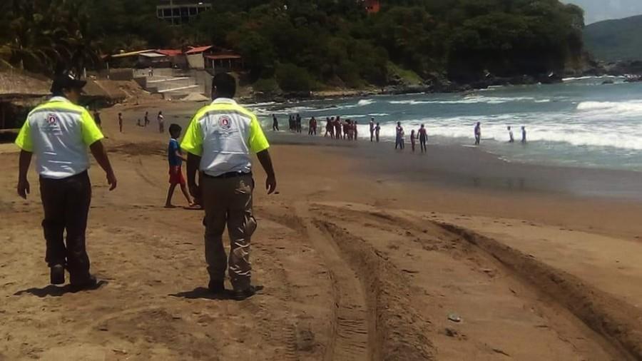 Photo of Levanta Protección Civil de Tecpan alerta por fenómeno de mar de fondo