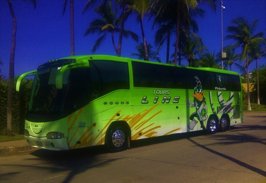 Photo of Decenas de autobuses turísticos han llegado a Zihuatanejo