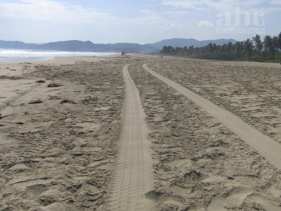 Photo of Piden más vigilancia para playa Blanca; La playa se ha convertido en una pista de carrera para automotores todo terreno