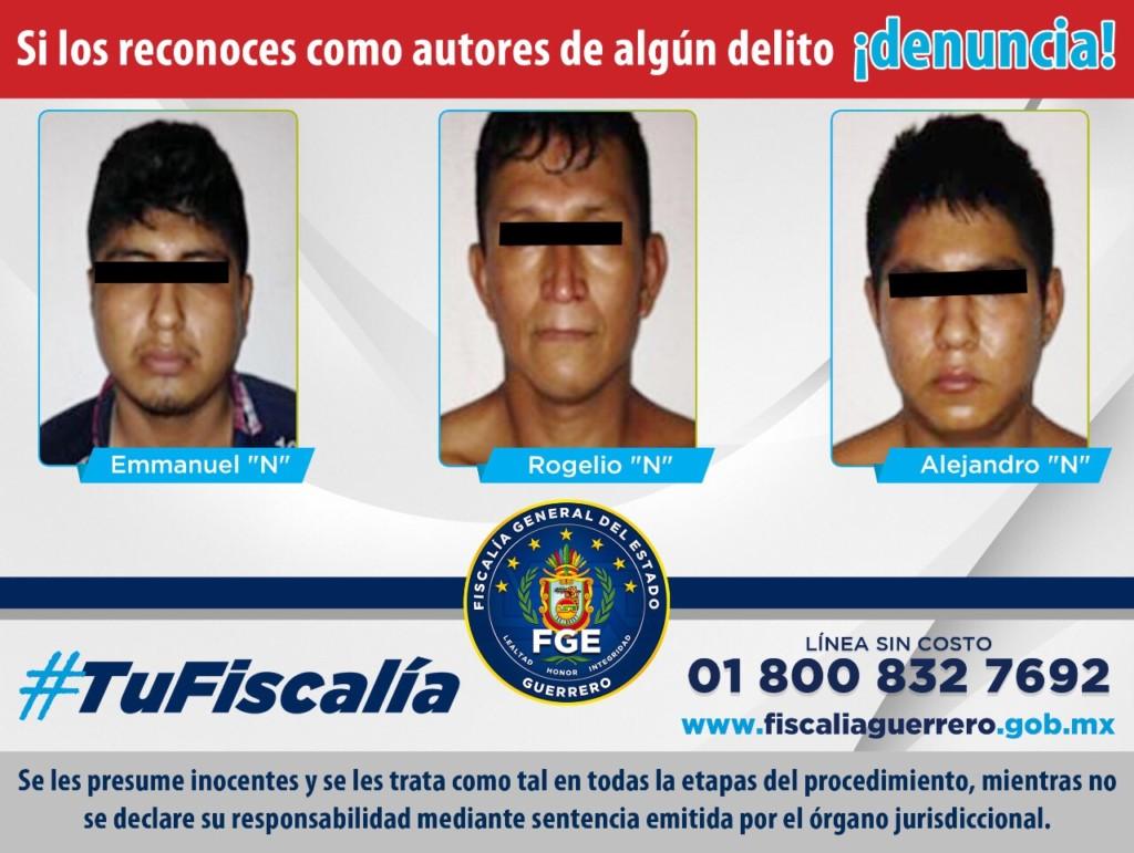 Photo of Obtiene la FGE en Guerrero, 50 años de sentencia por Secuestro, en Florencio Villarreal