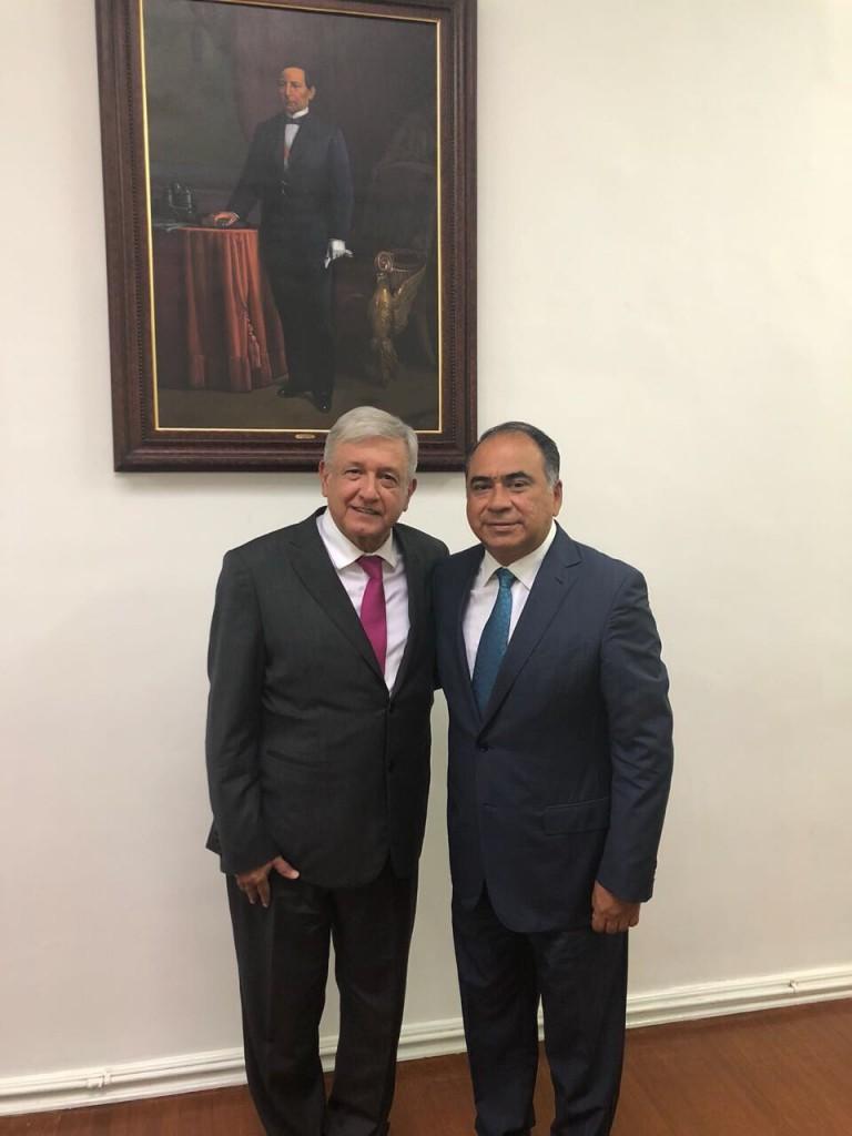 Photo of Pondera Héctor Astudillo impulsar desarrollo económico y turístico de Guerrero, en reunión con AMLO.