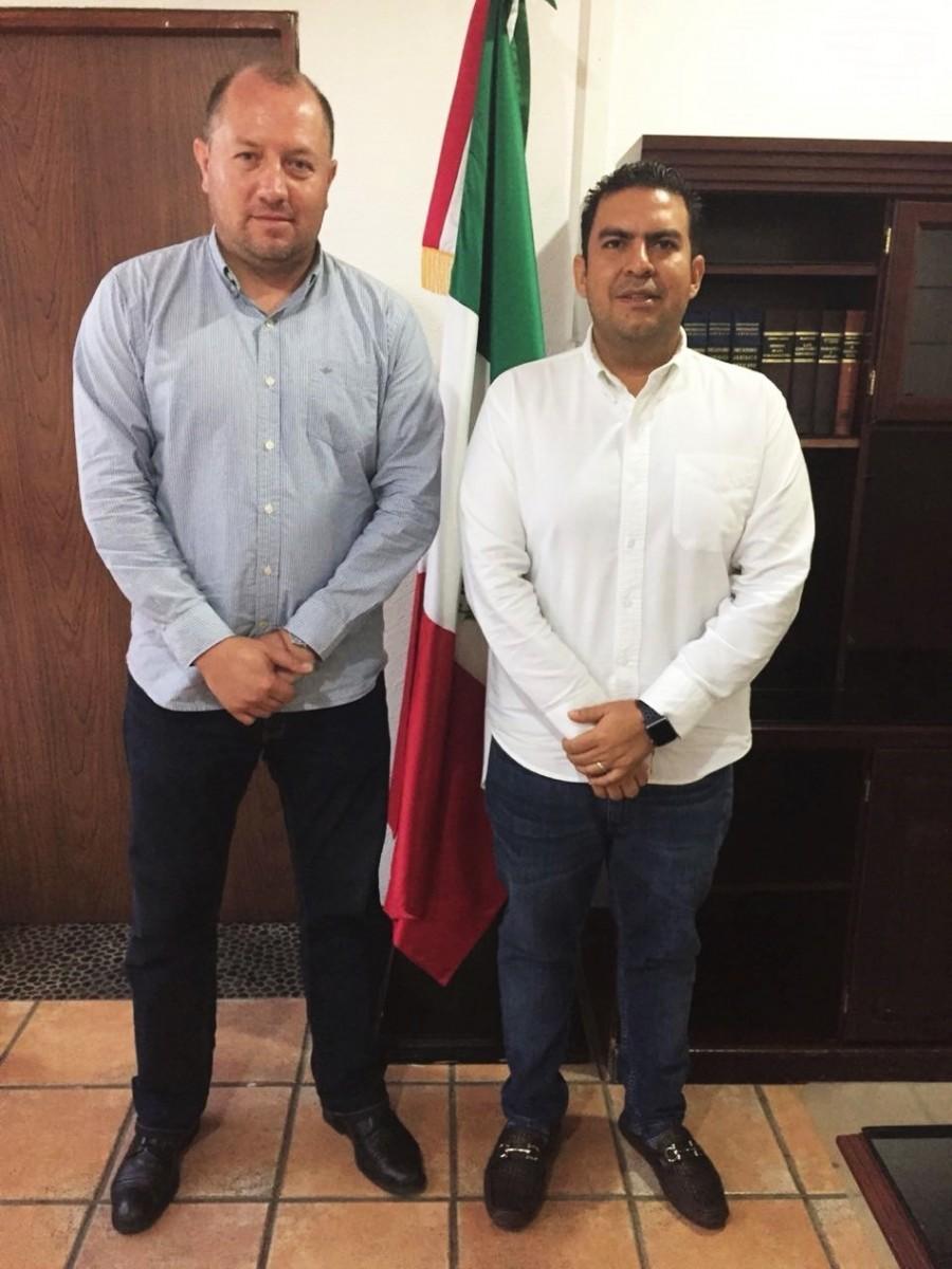 Photo of Presidente municipal Jorge Sánchez Allec, se reunió con el delegado de Prospera en Guerrero, José Antonio Abad Mena