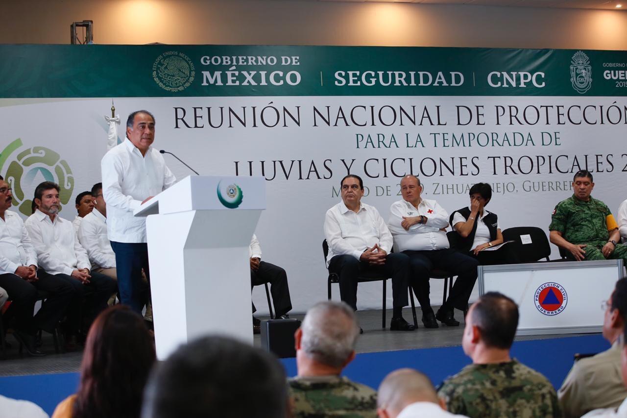 Photo of Guerrero fue sede de la Reunión Nacional de Protección Civil para la Temporada de Lluvias y Ciclones Tropicales 2019