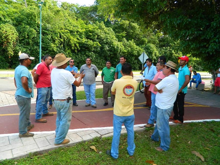 Photo of Miembros del Sutcobon bloquean trabajos de Fonatur en Paseo de los Viveros