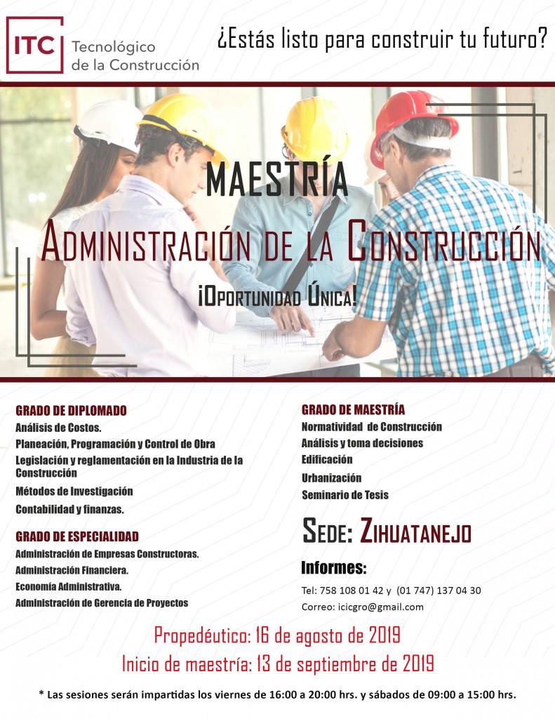 Photo of Si te interesa o trabajas en la Construcción, tenemos la opción educativa para ti