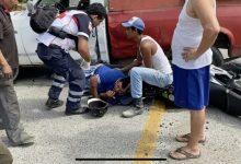 Photo of Motociclista herido al impactarse contra una camioneta en Paseo de Zihuatanejo